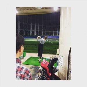 稲村亜美 ゴルフ