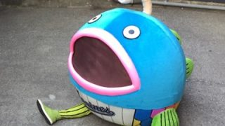 ロッテの魚マスコットの第一形態画像!名前やグッズ、中の人情報!